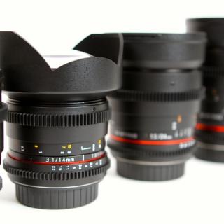 Samyang DSLR Lens Set